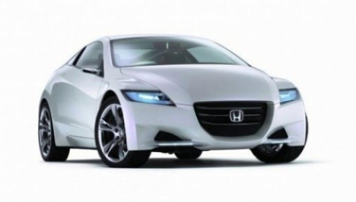 Honda CR-Z en acción