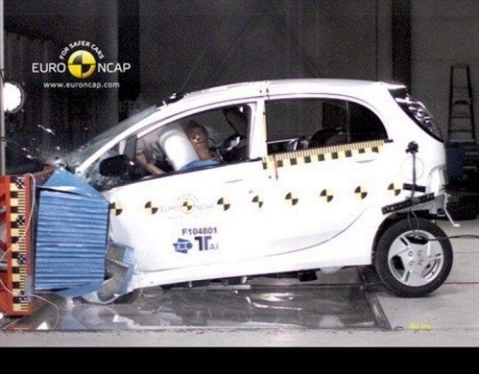 La EuroNCAP comenzó a probar la seguridad de los coches eléctricos