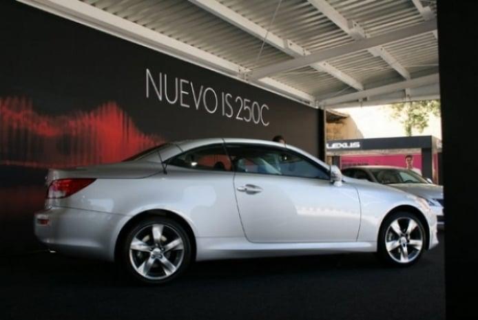Lexus Is C, el nuevo cabrio de Lexus en el Salón Internacional de Barcelona