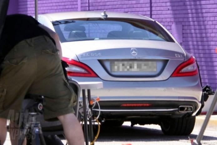Mercedes Benz CLS 2012, a por el Porsche Panamera