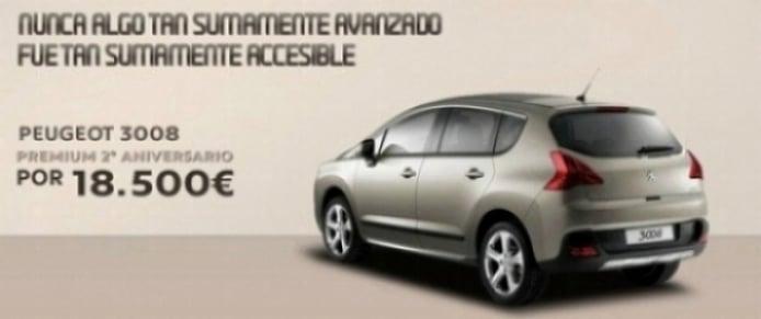 Nuevo Peugeot 3008  edición Premium 2º Aniversario