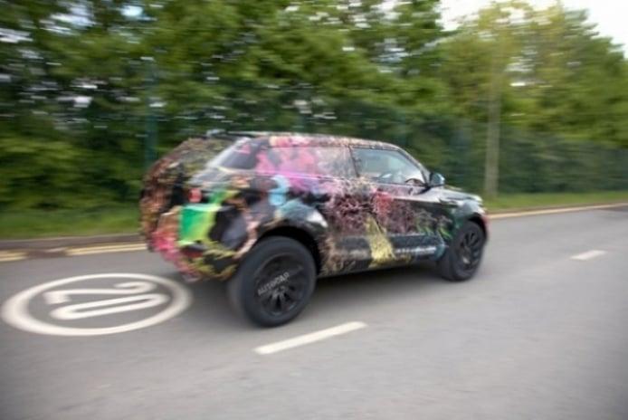 Primeras imágenes espías del Range Rover LRX.