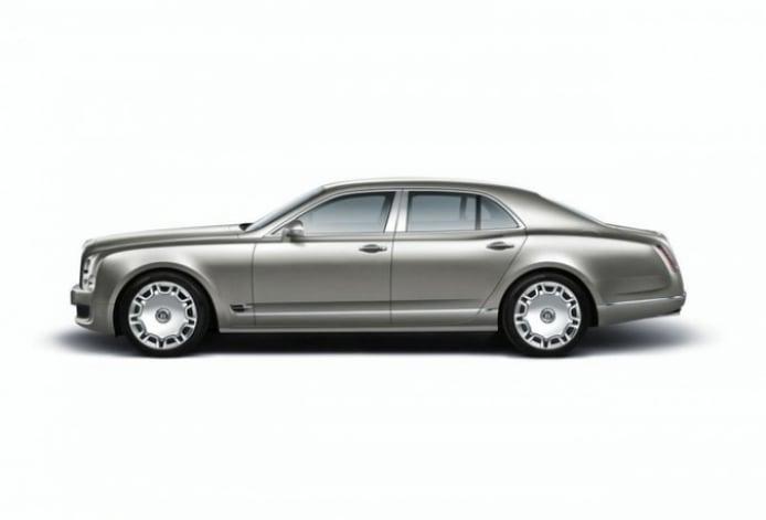 Salón de Frankfurt: Bentley humilla con el Mulsanne.