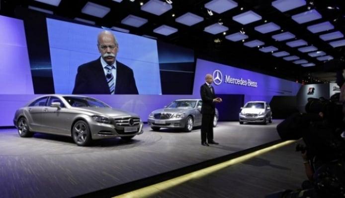 Salón de París, Mercedes Benz CLS presentado