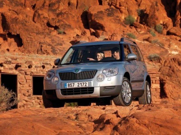 Skoda Yeti coche del año en el Reino Unido