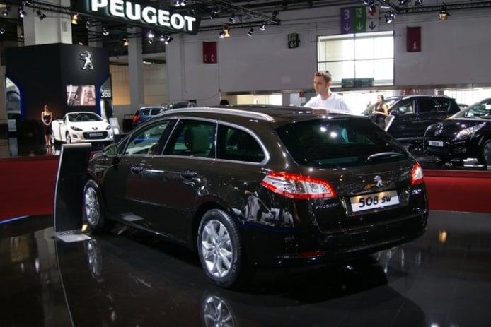 Stand de Peugeot en Barcelona 2011