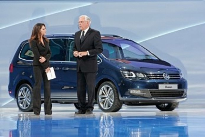Volkswagen presenta en Ginebra el nuevo Sharan