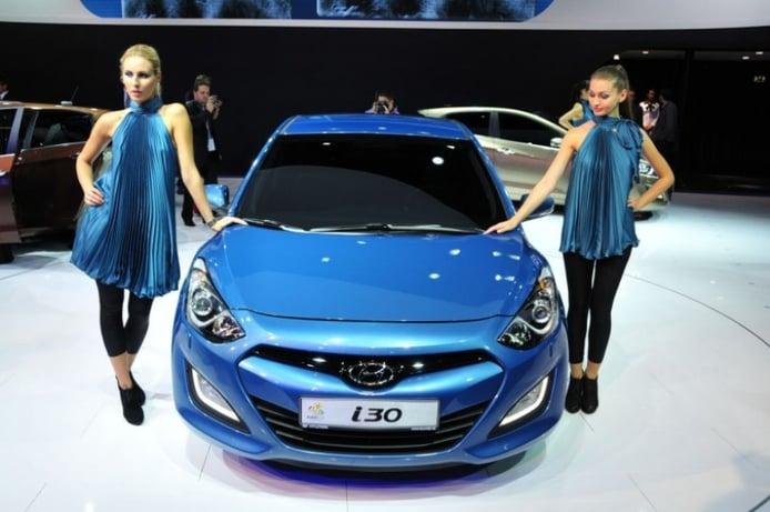 Salón de Frankfurt 2011: Hyundai i30 2012