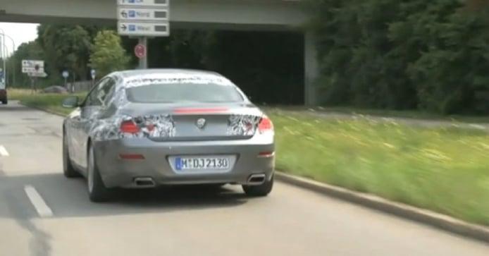 Vídeo espía: BMW Serie 6 Gran Coupé