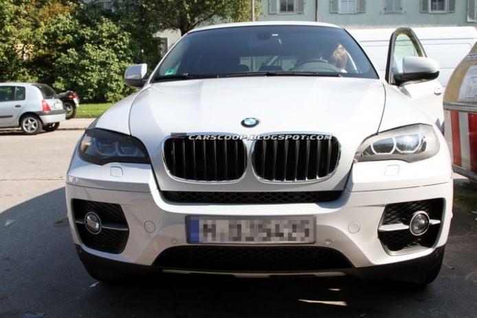 Fotos espía: BMW X6 2012