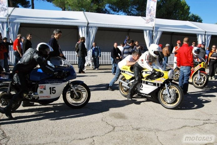 Jarama Vintage Festival - Las motos