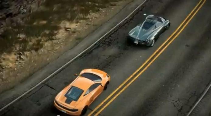 Pagani Huayra versus McLaren MP4-12C en la última versión del Need for Speed
