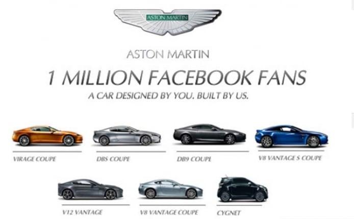 Aston Martin invita a sus fanáticos a diseñar un nuevo modelo