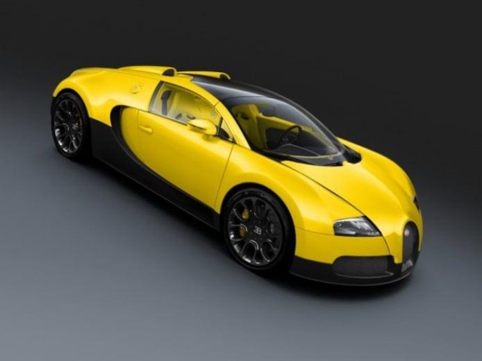 Bugatti lanza tres nuevas ediciones especiales del Veyron Grand Sports