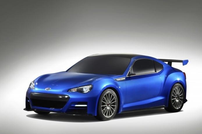 El Subaru BRZ Concept STI se presenta