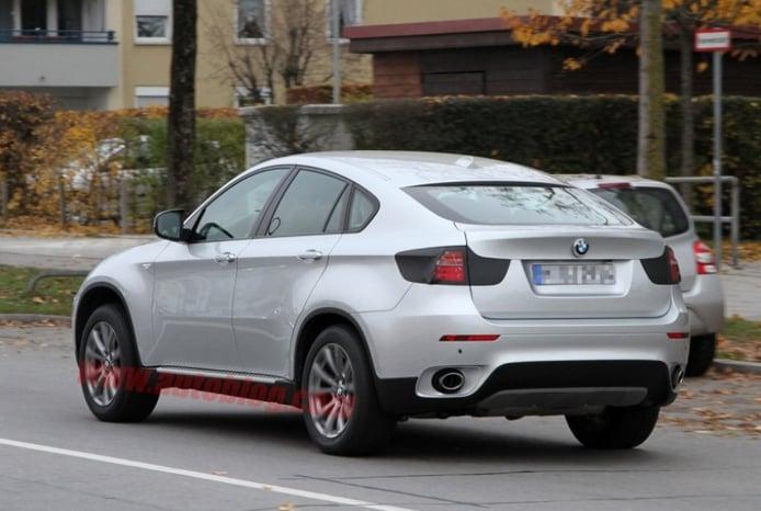 Nuevas fotos espía del BMW X6 2012