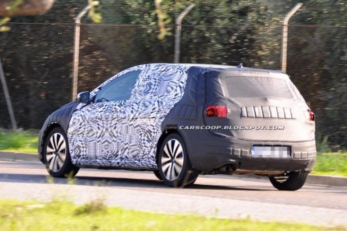 Nuevas fotos espía del Volkswagen Golf VII
