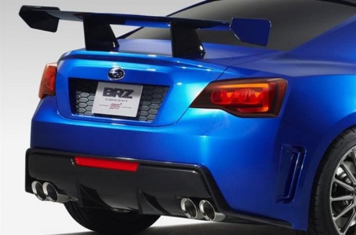 Primeras fotos oficiales del Subaru BRZ