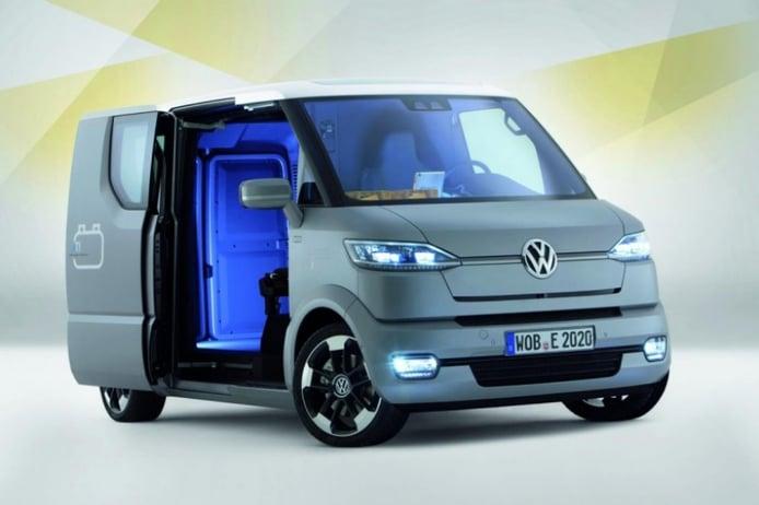 Volkswagen eT Concept, la van que se conduce sola