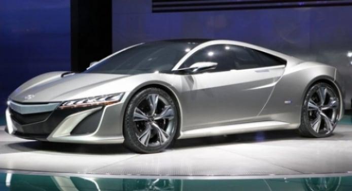 Honda presentó el NSX Concept en el Salón de Detroit