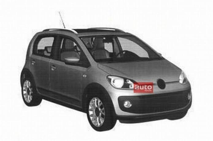 Se filtra la silueta del Volkswagen Up! 5 puertas