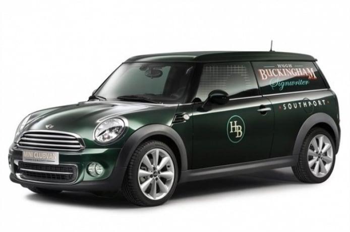 Mini presenta el Clubvan concept antes de su debut en Ginebra