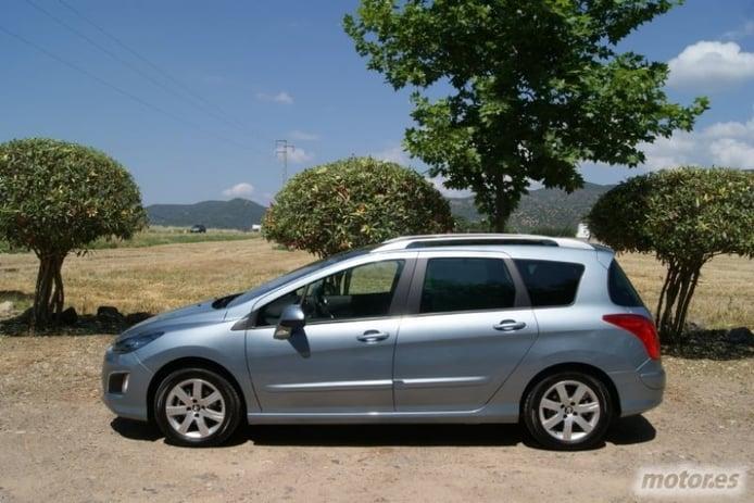 Peugeot 308 SW 1.6 e-HDi. Espacio familiar y ahorrador