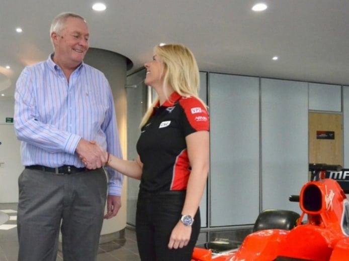 María de Villota cumple su sueño de F1: será piloto de pruebas de Marussia