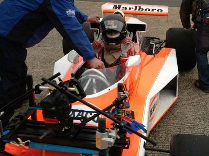 Fotos de la filmación de Rush, la película sobre Nicky Lauda y James Hunt