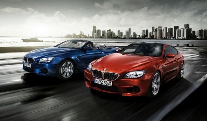 Nuevas fotos y videos de los BMW M6 Coupé y M6 Cabrio