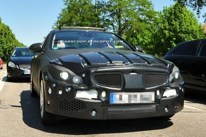 Fotos espía: Mercedes Clase C 2013 (interior incluido)