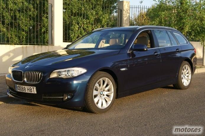 BMW Serie 5 520d touring. Déjate llevar