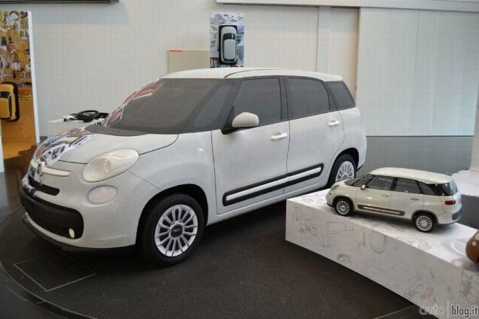 Fiat 500 XL se muestra en sus patentes filtradas