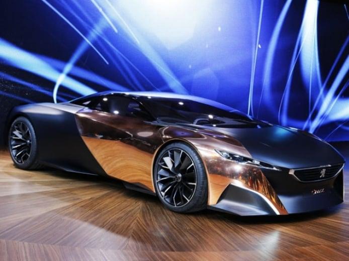 El espectacular Peugeot Onix Concept deslumbra París