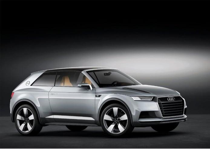 Audi Crosslane Coupé: El futuro Q2