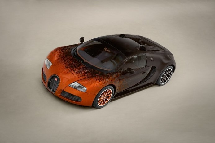 Bugatti Veyron Grand Sport Venet, arte sobre ruedas