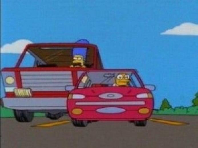 Los coches de Los Simpson