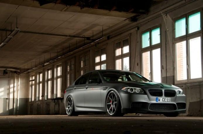 BMW M5 con 646 CV de la mano de Manhart