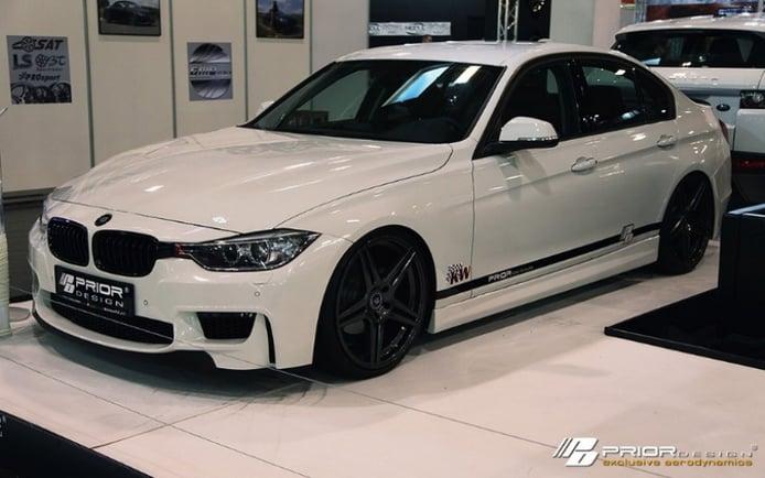 Prior Design viste al BMW Serie 3