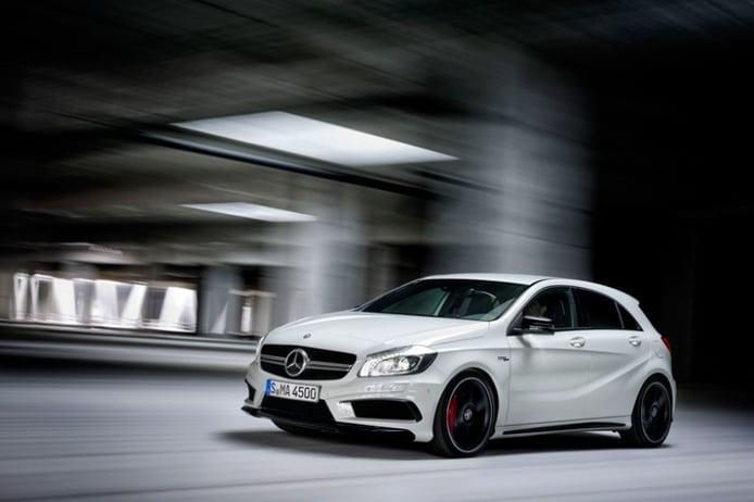Mercedes-Benz Clase A 45 AMG, el rey compacto tiene 360 CV