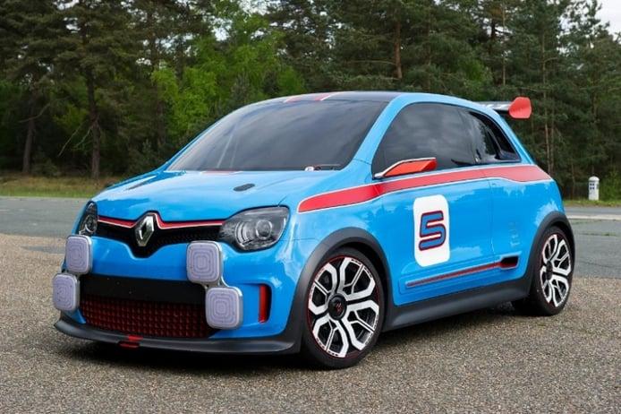 Renault Twin'Run, 320 CV y motor central para un pequeñín casi de carreras