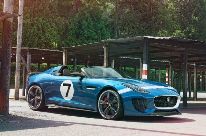 Jaguar Project 7, un llamativo F-Type Speedster para Goodwood 2013