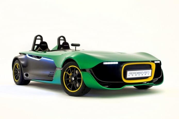 Caterham AeroSeven, visualizando el futuro más purista de los deportivos