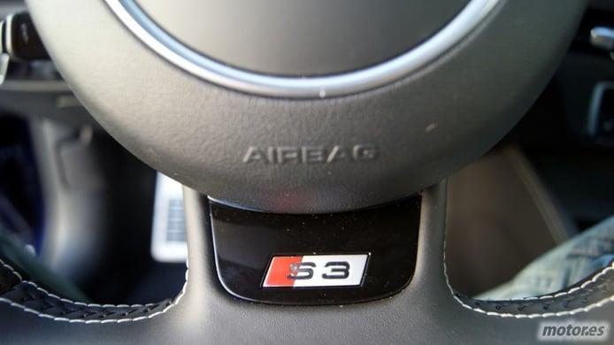 Presentación y prueba nueva gama AUDI A3: Interior