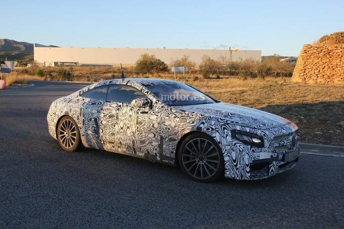 Mercedes-Benz S63 AMG Coupé 2015, en pruebas