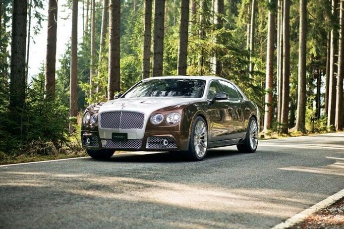 Mansory lleva hasta los 900 CV al Bentley Flying Spur