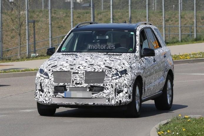Mercedes ML 2015, el restyling para el Clase M ya está en marcha