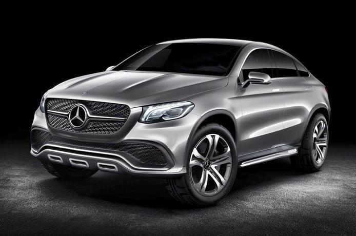 Mercedes-Benz presentará el rival del BMW X6 en Pekín