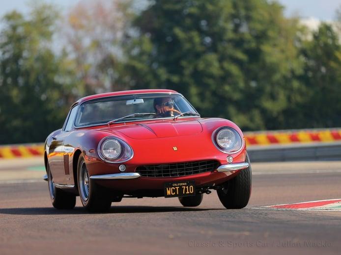 El Ferrari 275 GTB/4 de Steve McQueen, a subasta