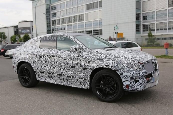 Mercedes-Benz MLC 2015, el SUV coupé ya está en pruebas